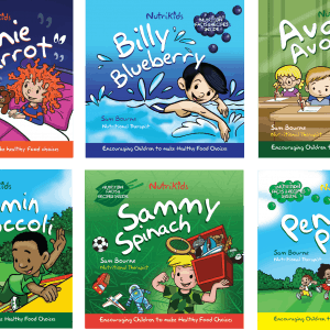 Nutrikids book covers